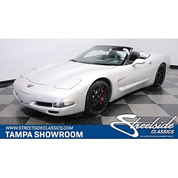 2002 Chevrolet Corvette Convertible for sale 101354525