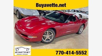 2002 Chevrolet Corvette for sale 101502154