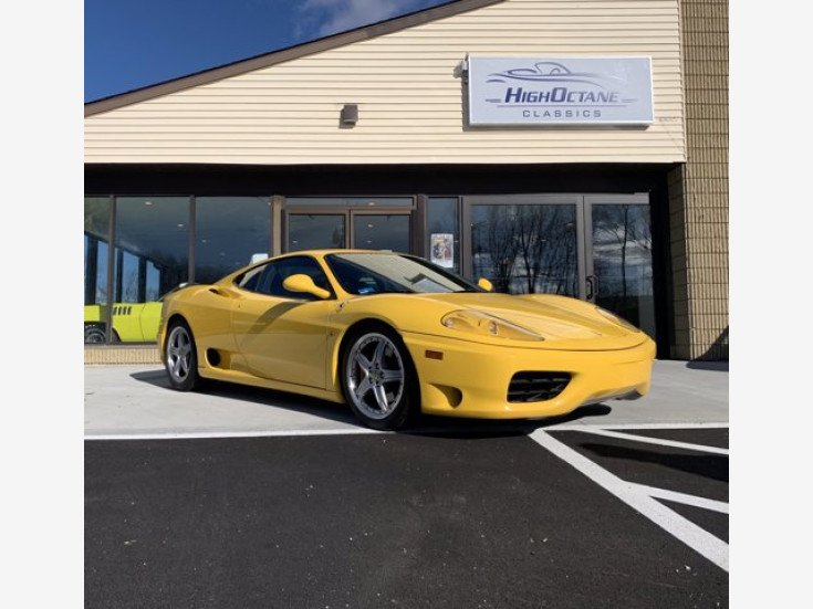 2002 Ferrari 360 Modena for sale near Auburn, Massachusetts 01501 - Classics on Autotrader