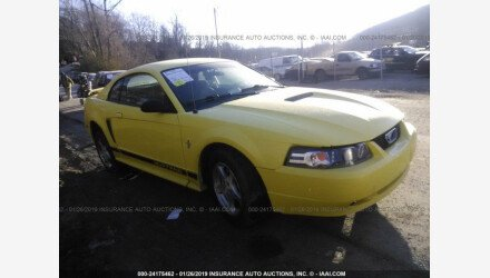 2002 Ford Mustang Coupe for sale 101101936
