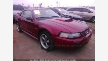 2002 Ford Mustang GT Coupe for sale 101108309