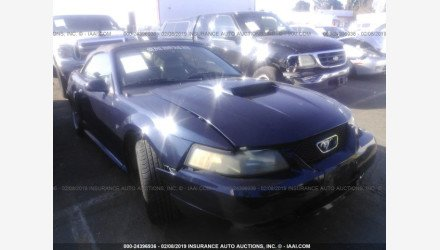 2002 Ford Mustang GT Convertible for sale 101109536