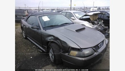 2002 Ford Mustang GT Convertible for sale 101109974