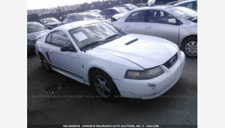 2002 Ford Mustang Coupe for sale 101111069