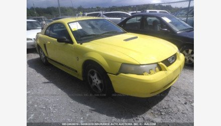 2002 Ford Mustang Coupe for sale 101124757