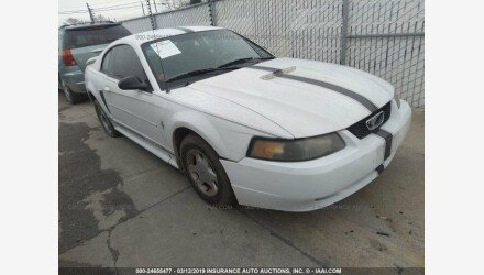 2002 Ford Mustang Coupe for sale 101124770