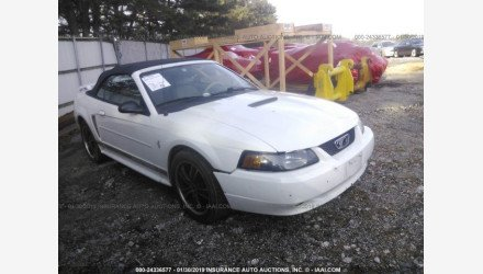 2002 Ford Mustang Convertible for sale 101126383