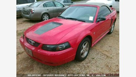2002 Ford Mustang Convertible for sale 101127773