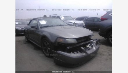2002 Ford Mustang GT Convertible for sale 101211115
