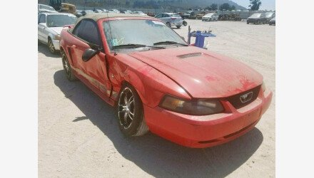 2002 Ford Mustang Convertible for sale 101213674