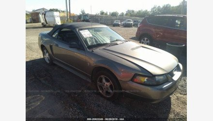 2002 Ford Mustang Convertible for sale 101215043