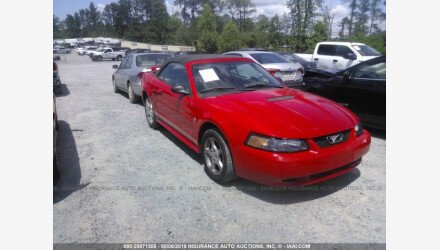 2002 Ford Mustang Convertible for sale 101219770