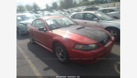 2002 Ford Mustang Coupe for sale 101220851
