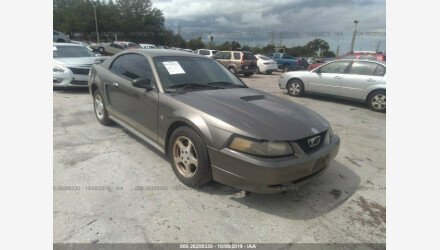2002 Ford Mustang Coupe for sale 101223266