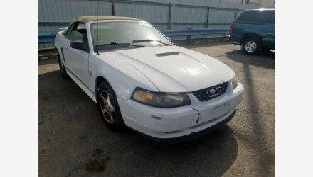 2002 Ford Mustang Convertible for sale 101224406