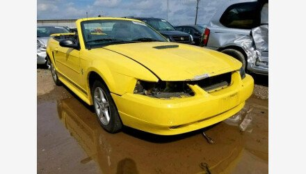 2002 Ford Mustang Convertible for sale 101225021