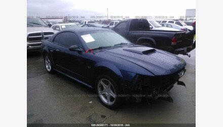 2002 Ford Mustang GT Coupe for sale 101233939