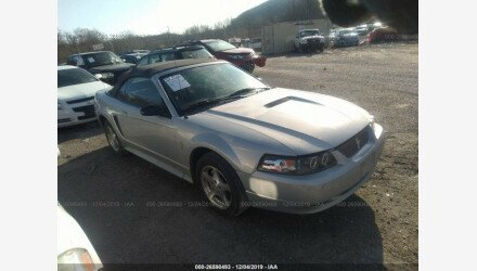 2002 Ford Mustang Convertible for sale 101268823