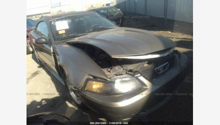 2002 Ford Mustang Convertible for sale 101272191