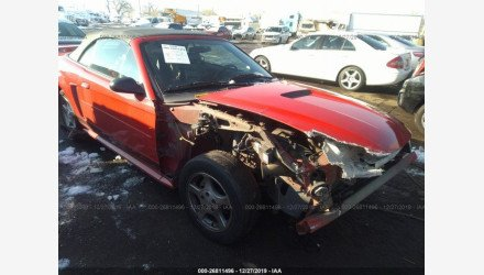 2002 Ford Mustang Convertible for sale 101273875