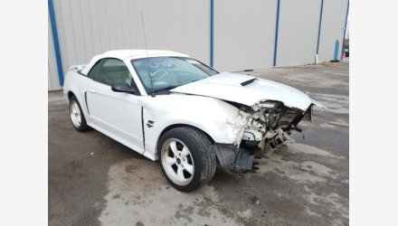 2002 Ford Mustang GT Convertible for sale 101283465