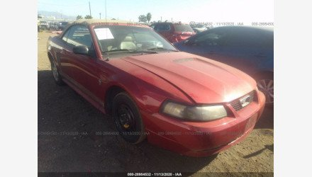 2002 Ford Mustang Convertible for sale 101412502