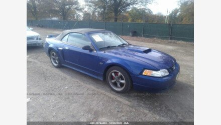 2002 Ford Mustang GT Convertible for sale 101414231