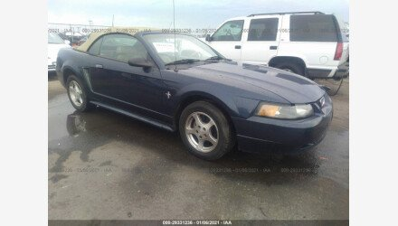 2002 Ford Mustang Convertible for sale 101442234