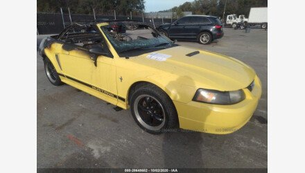 2002 Ford Mustang Convertible for sale 101443537