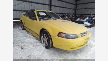 2002 Ford Mustang Convertible for sale 101454874