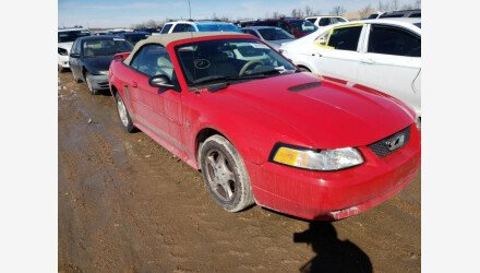 2002 Ford Mustang Convertible for sale 101463345