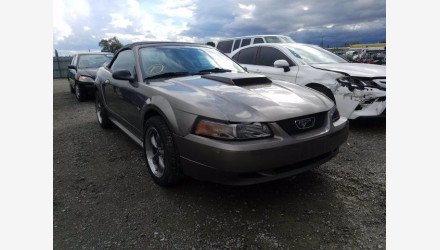 2002 Ford Mustang Convertible for sale 101487609