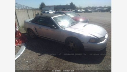 2002 Ford Mustang Convertible for sale 101491934