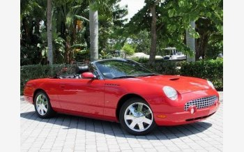 2002 Ford Thunderbird for sale 100966521