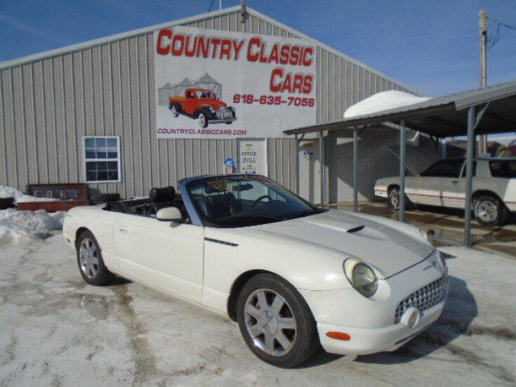 2002 Ford Thunderbird for sale 101461865