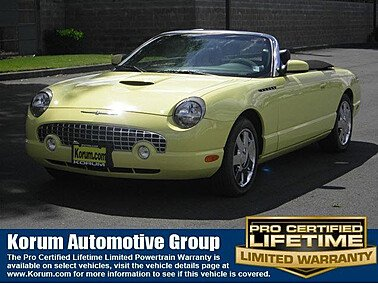 2002 Ford Thunderbird for sale 101003438