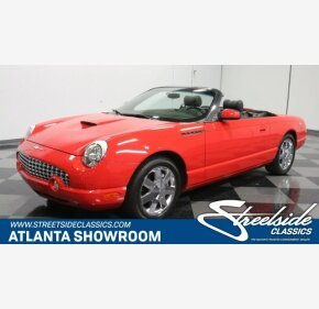 2002 Ford Thunderbird for sale 101094327