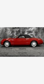 2002 Ford Thunderbird for sale 101158856