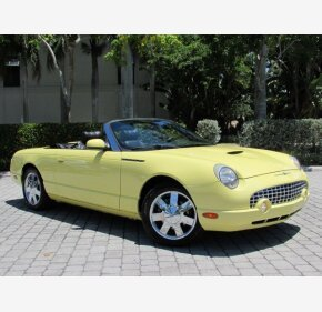 2002 Ford Thunderbird for sale 101170327