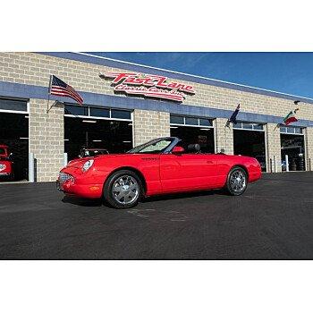 2002 Ford Thunderbird for sale 101216764