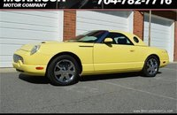 2002 Ford Thunderbird for sale 101220482