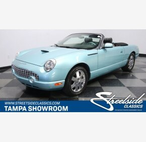 2002 Ford Thunderbird for sale 101339865