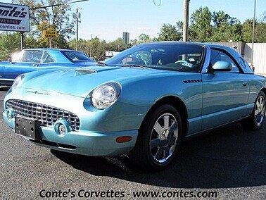 2002 Ford Thunderbird for sale 101386793