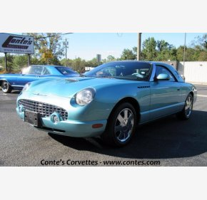 2002 Ford Thunderbird for sale 101386793