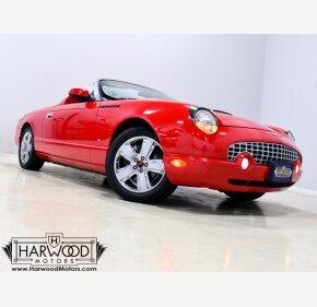 2002 Ford Thunderbird for sale 101406139