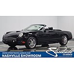 2002 Ford Thunderbird for sale 101488600