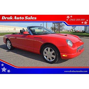 2002 Ford Thunderbird for sale 101625273