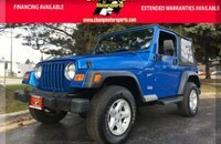 2002 Jeep Wrangler 4WD Sport for sale 101059562
