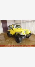 2002 Jeep Wrangler 4WD Sport for sale 101326291
