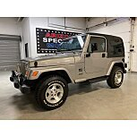 2002 Jeep Wrangler for sale 101625457